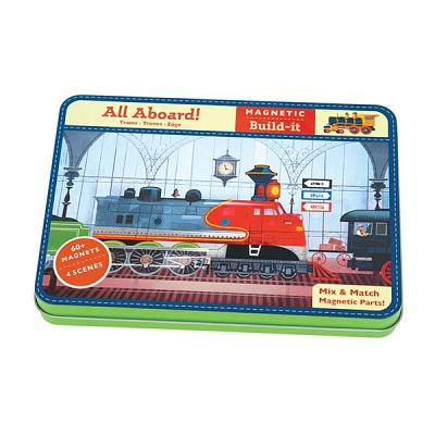 All Aboard! Magnetic Build-It By Christoph, Jamey (ILT)