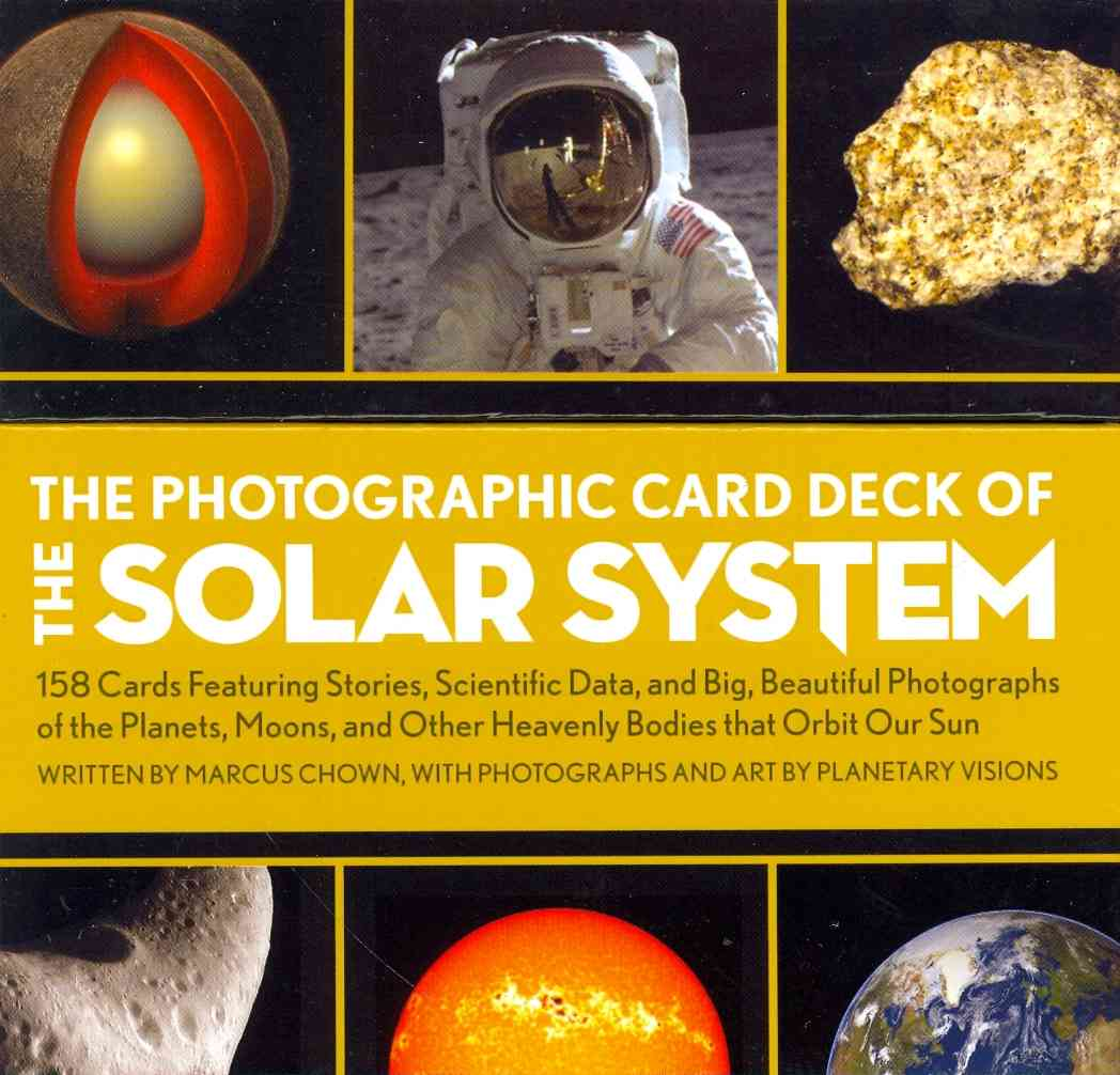 The Photographic Card Deck of the Solar System By Marcus, Chown